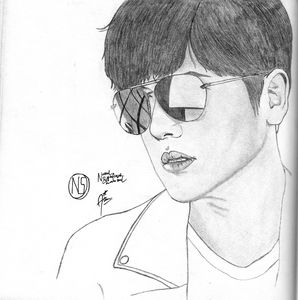 Ji Chang Wook Drawing