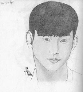 Kim Soo Hyun Portrait