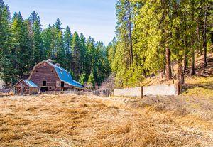 The rustic barn