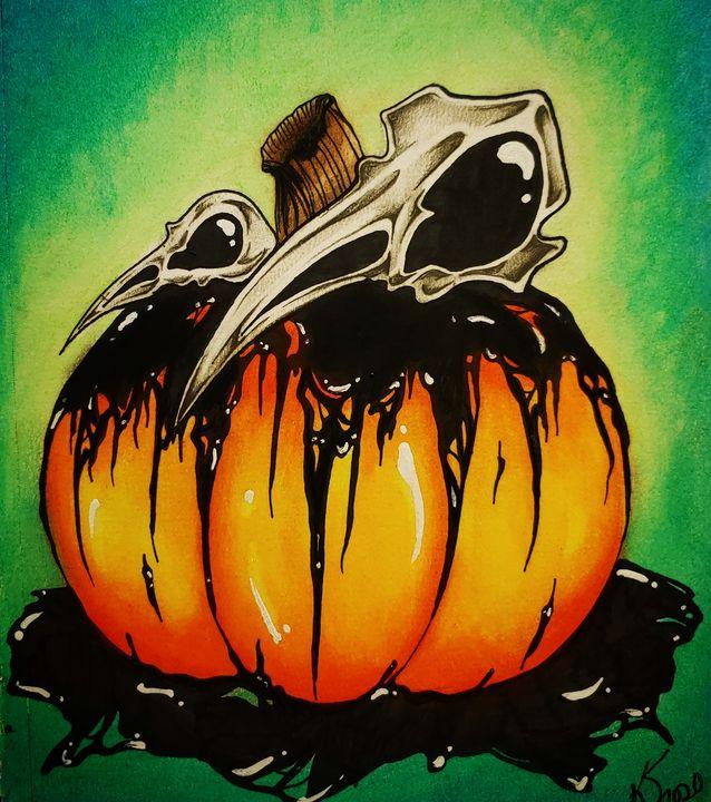 Halloween 2020 - Kyla's Art