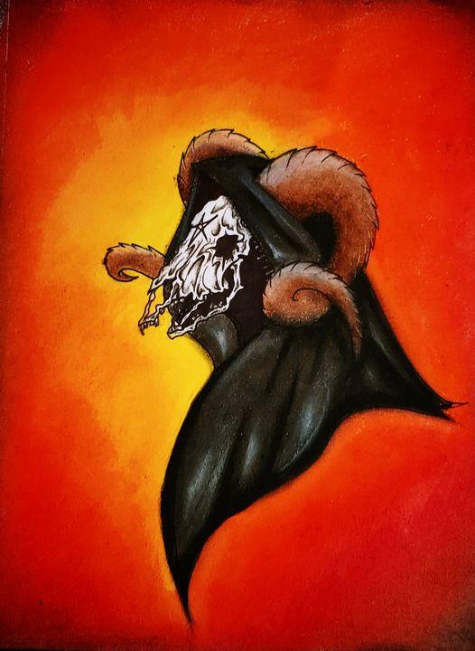 Demonic Ram - Kyla's Art
