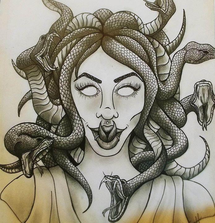 Medusa - Kyla's Art