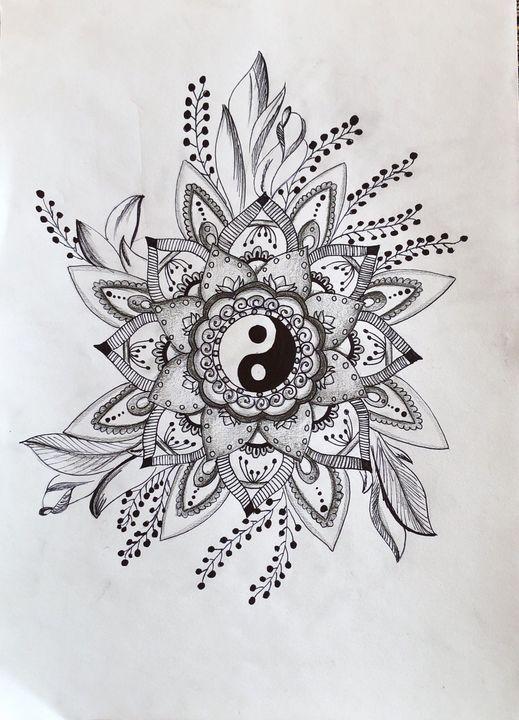 Yin yang mandala 2 - Dominika