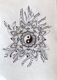 Original yin yang mandala