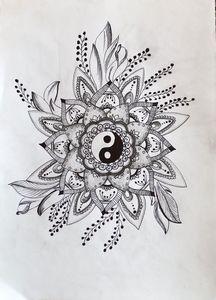 Yin yang mandala 2