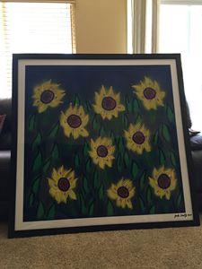 Jack Shultz acrylic painting
