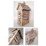 Ornamental ceramics cottage