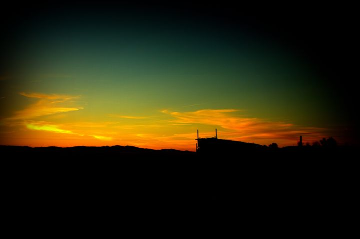 Sunset over the Mine - Olewayz