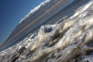 Frozen Shore Line