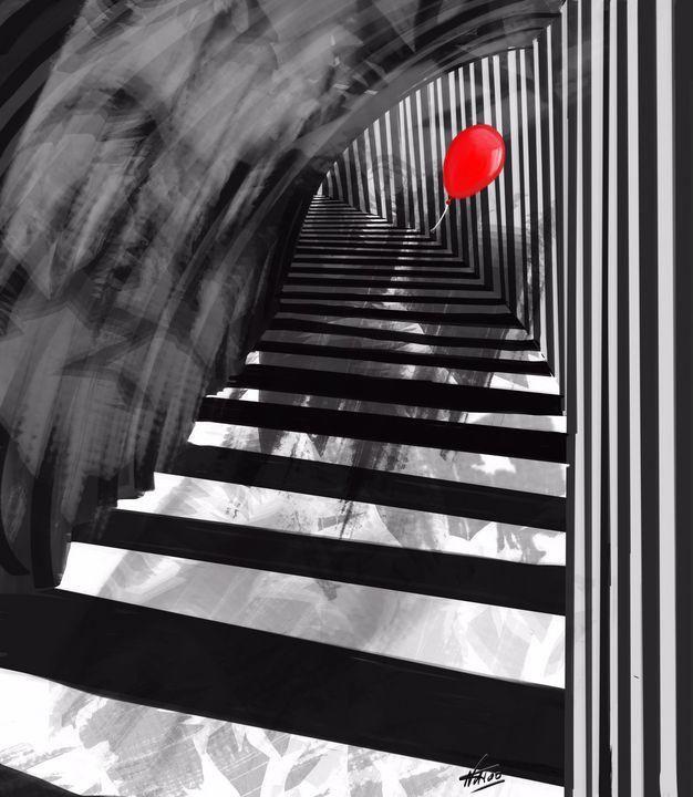 Ballon rouge - Natoo