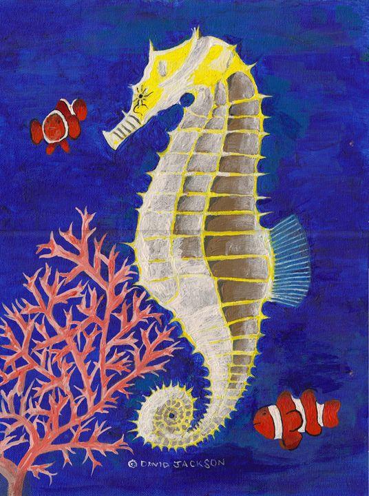Seahorse and Clowns - David I. Jackson