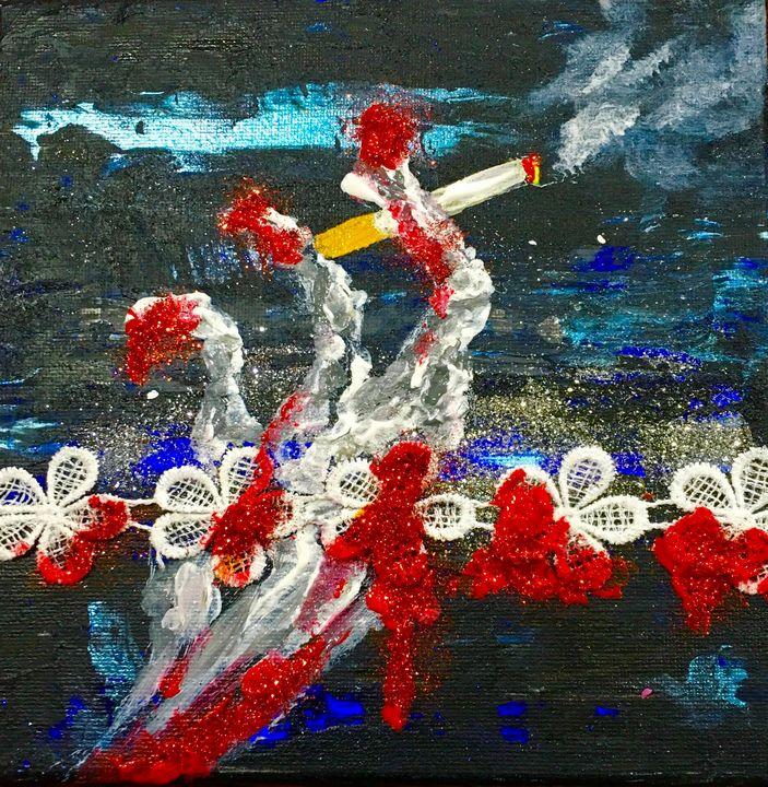 Smoking - Yustyna Klish