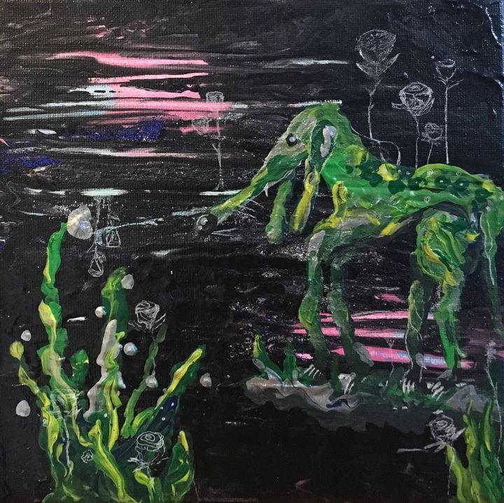 The Green Dog - Yustyna Klish