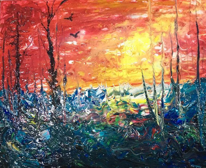 Red Forest 1 - Yustyna Klish