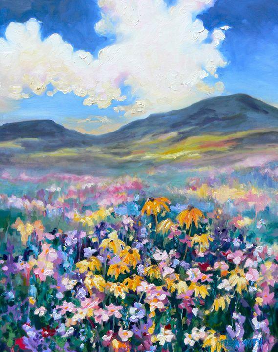floral valley - ArtByTeresa