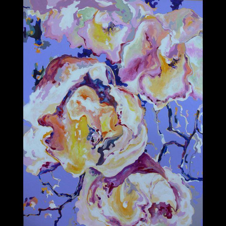 abstract florals - ArtByTeresa