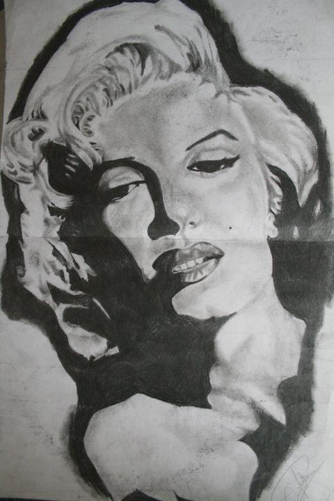 Marylin Monroe - Darien's art