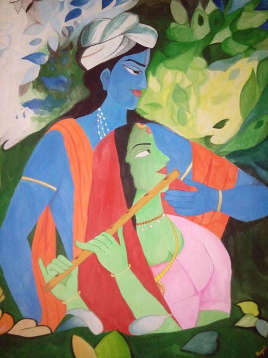 Radha krishna - royal bhatia