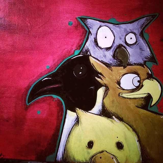 Bird Gang - Highs Art Designs