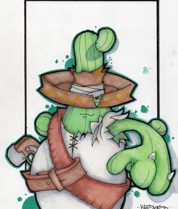 saguaro desperado - Highs Art Designs