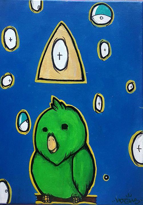 Bird Fiasco - Highs Art Designs