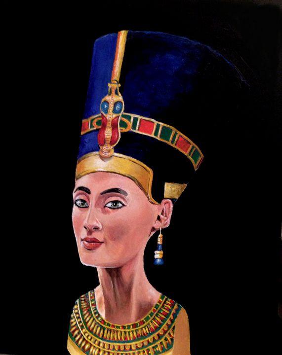 Queen Nefertiti - indiecarving