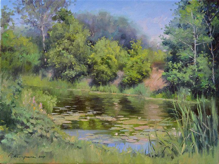Summer landscape - Kiprich