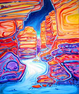 San Lorenzo Canyon NightScape
