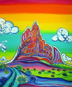 Enchanted Shiprock