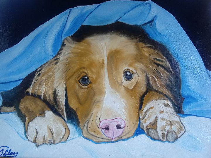 Dog...I don't want to get up - J.Clay Originals