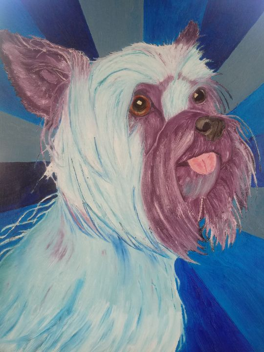 DOG...Bennie the terrier - J.Clay Originals