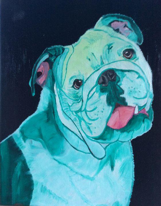 DOG HULK THE BULLDOG - J.Clay Originals