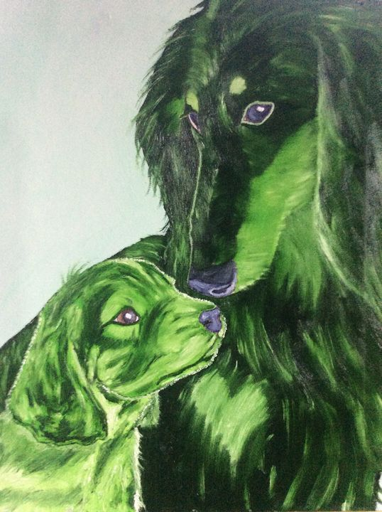 DOG DASH AND HER MOTHER DORTHY - J.Clay Originals