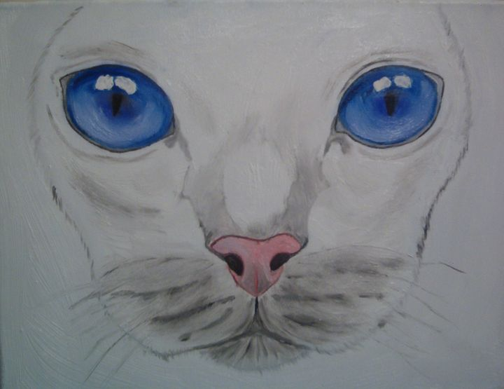 CAT FACE........MESMERIZING - J.Clay Originals