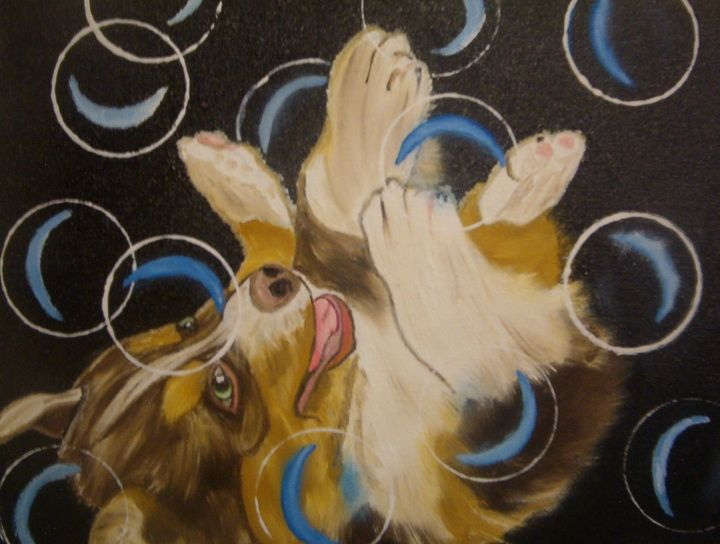 Dog...bubbling - J.Clay Originals