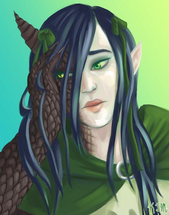 Half Dragon - Drawlynn