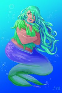Seaweed Mermaid