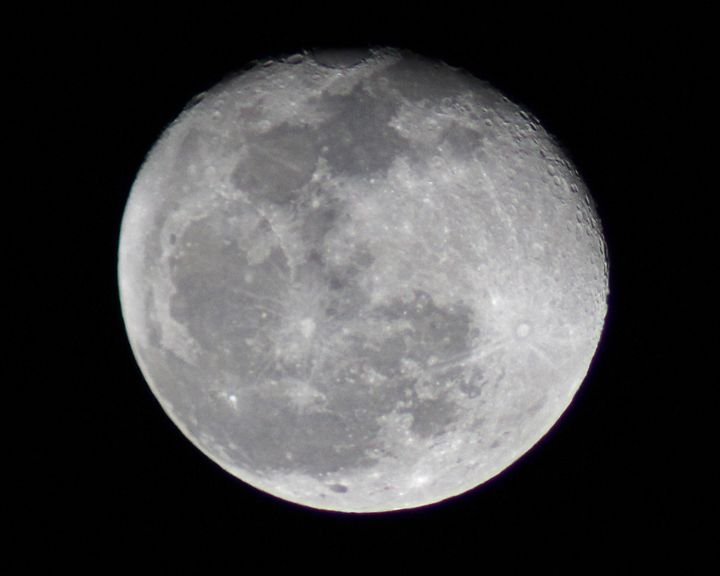 Nearly Full Moon - PictureNC