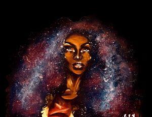 Supernova (Black Background)