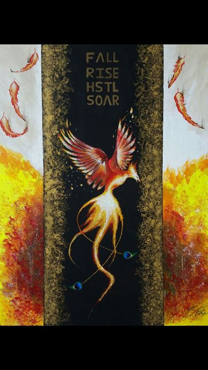 The Phoenix - Shive Art
