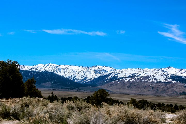 Nevada Mountains - Katie Wagner Photography