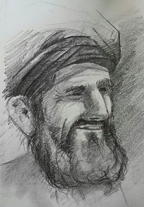 Afghan man - Khyber Hashimi
