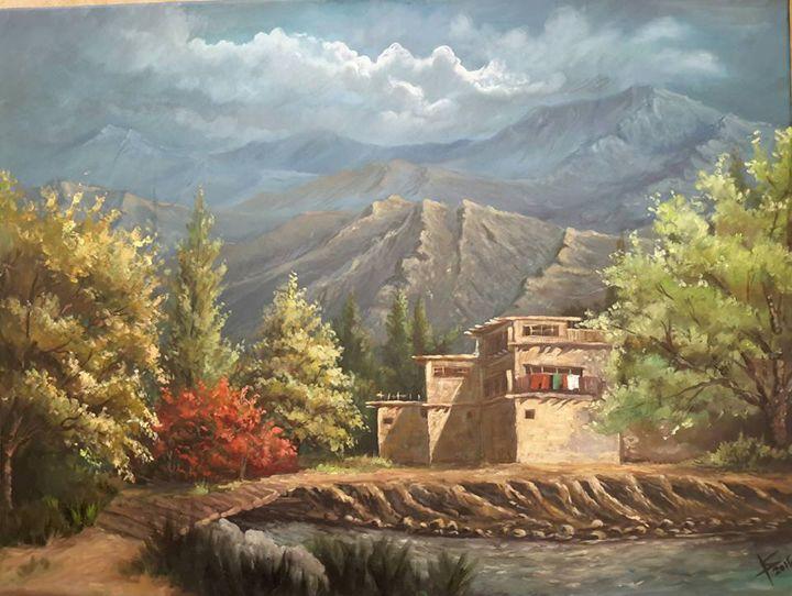 Afghanistan village - Khyber Hashimi