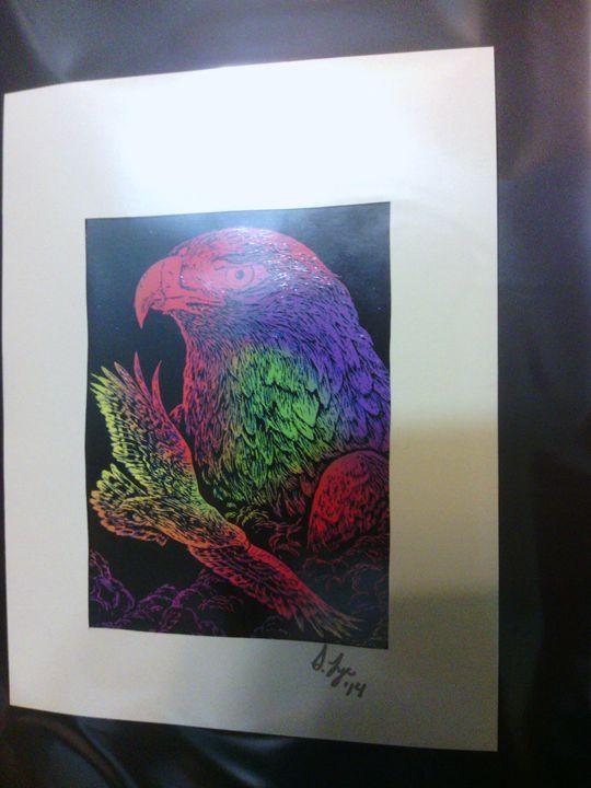 Rainbow Eagles - Scraperfun