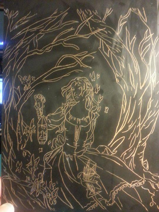 Fairies by light - Scraperfun