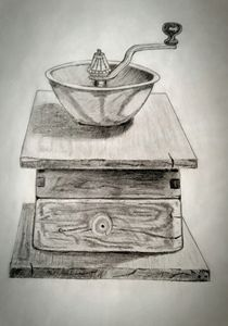 Coffee grinder. - A malins sketch art.