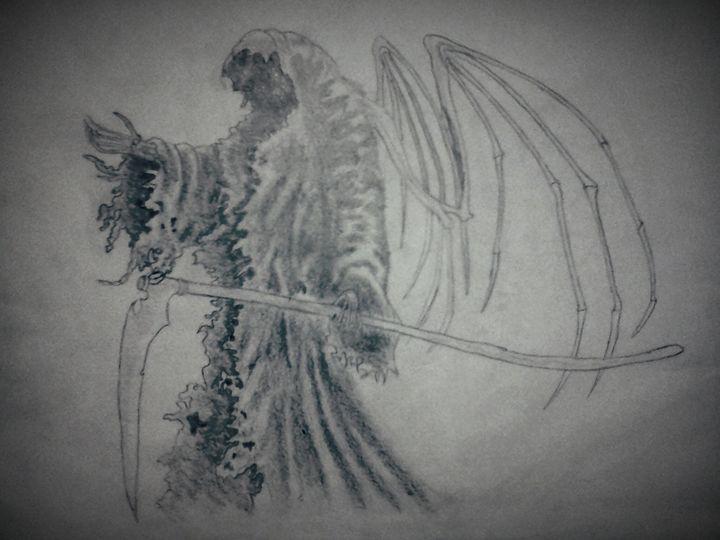 The soul taker. - A malins sketch art.