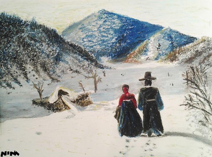Winter Mountains - Nina Sofia