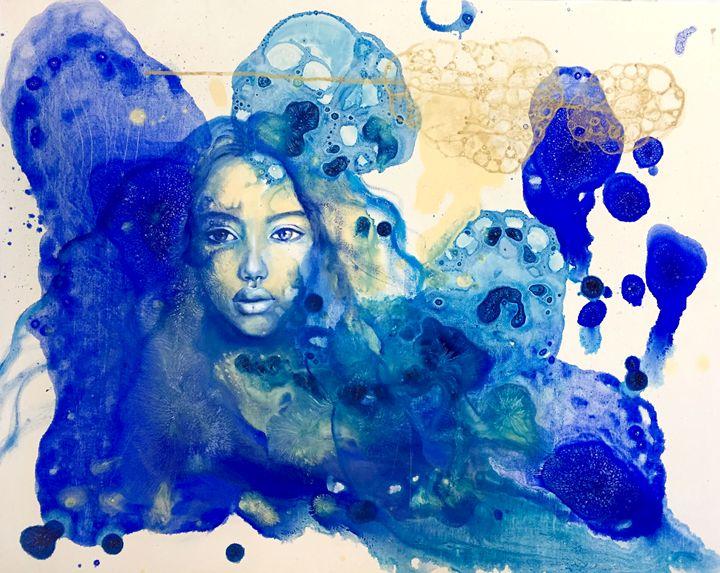 Blue Doors in Tunis - Eury Kim