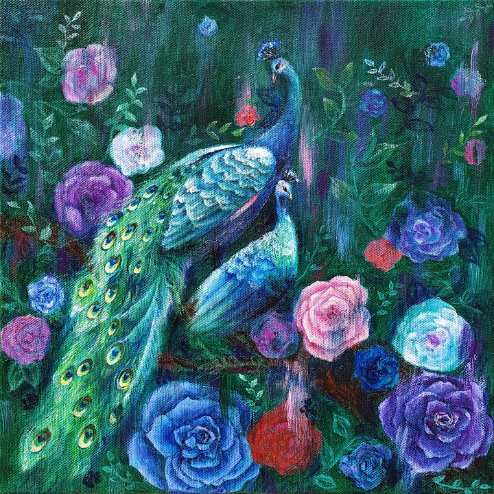 Mystic garden - Eury Kim